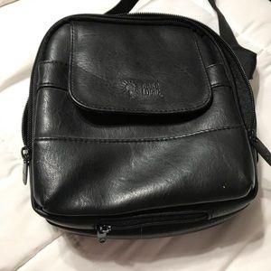 Case logic leather unisex travel bag